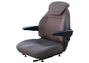 Premium High-Back Seat with Brown Fabric